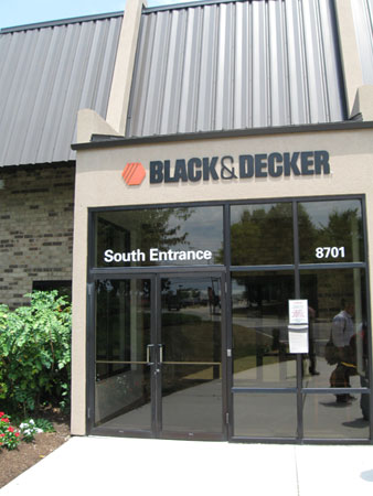 Black & Decker University Dewalt Training Facility Entrance