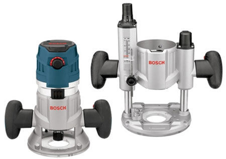 Bosch MRC23EVSK Modular Router Plunge and Fixed Base Combo Kit