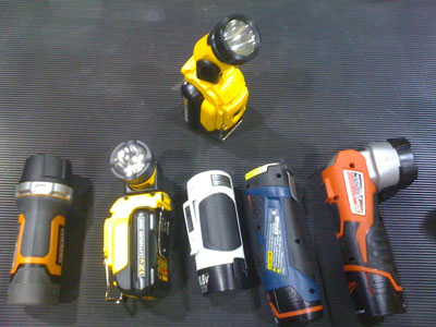 Dewalt 12V MAX Li-Ion Flashlight vs Competing Models