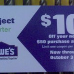 Lowes Project Starter $10 off $50 Coupon