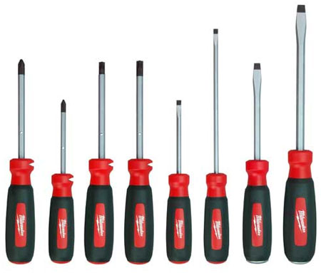 New Milwaukee Screwdriver Set