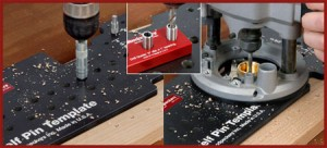 Woodpeckers New Shelf Pin Drilling Template