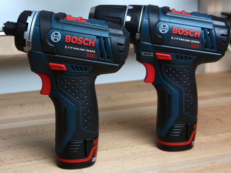 Bosch PS21 & PS31 Cordless Screwdriver & Drill Driver