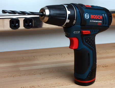 Bosch-PS31-Compact-Lithium-Ion-Drill-Driver with Twist Drill