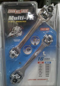 Channellock Multi-Fit (Dog Bone) Socket Wrenches