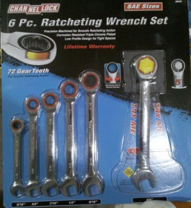 Channellock Ratcheting Wrenches