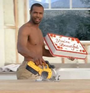 Dewalt Circular Saw Cameos in Old Spice Ad