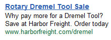 Harbor Freight Dremel Sales Tactics
