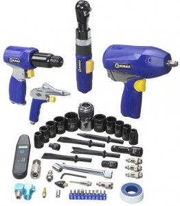 Kobalt 4 Piece Air Tool Kit Half-Off