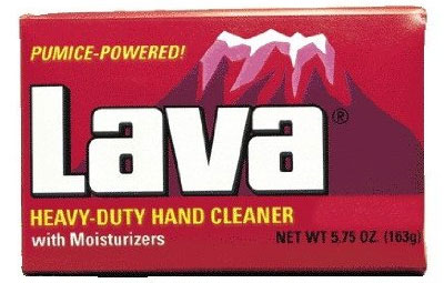 Lava Pumice-Powered Hand Cleaner