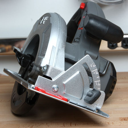 Porter cable cordless 18v circular saw review porter cable cordless 18v circular saw front bevel adjustment greentooth Choice Image