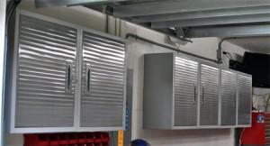 Seville Heavy Duty Wall Cabinet Array