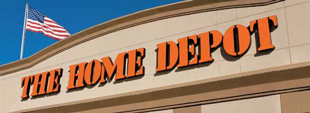 Home Depot Home Services Thumps Pounded Thumb - The home depot logo
