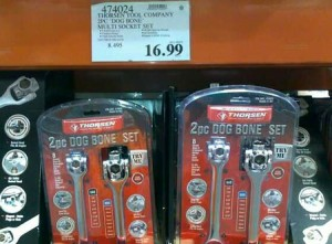 Thorsen Dog Bone Wrench Sets at Costco