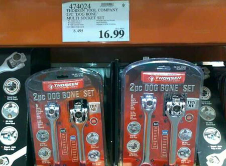 Thorsen Dog Bone Wrench Sets at Costco