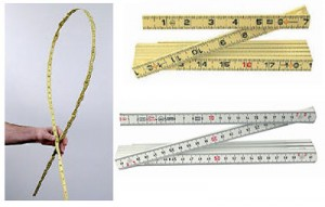 Wiha's Indestructible Flexible Folding Rulers