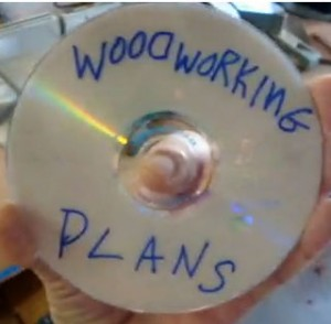 Woodworking Plans DVD Scam Rip-Off Mock-Up