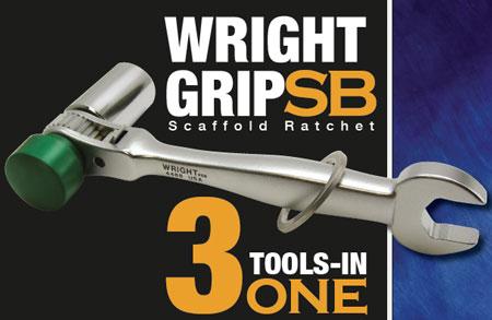 New Wright Grip SB Scafford Ratchet