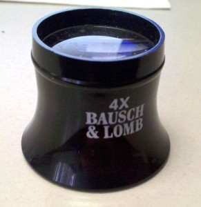 Bausch & Lomb Watchmaker's Loupe