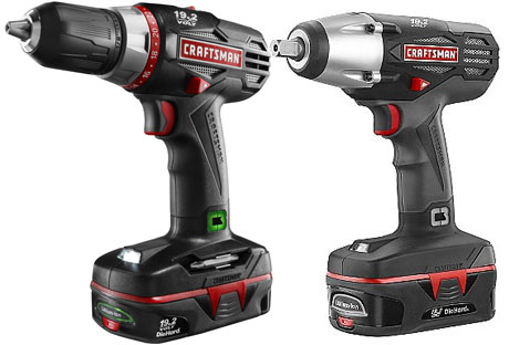 Craftsman C3 19 2v Cordless Mechanics Tool Combo Giveaway