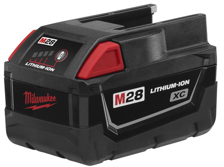 Milwaukee Begins Transition from V28 to M28 Battery System