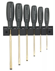 PB Swiss 7244 Gold Plated Multicraft Screwdriver Set