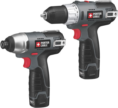 Porter Cable Unveils New 12V Compact Cordless Power Tools