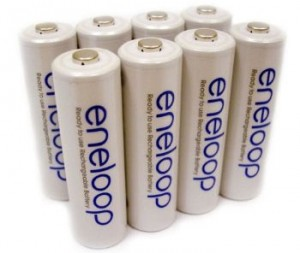 Sanyo Eneloop Ready to Use Slow Self Discharge NiMH Batteries