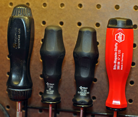 Wera Wiha & Snap-on Go-To Screwdrivers