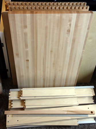 Western Dovetail Mobile Tool Cabinet Unpacked