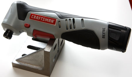 Craftsman Nextec Right Angle Impact Driver Balanced