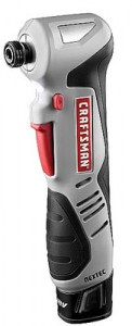 Craftsman Nextec 12V Right Angle Impact Driver