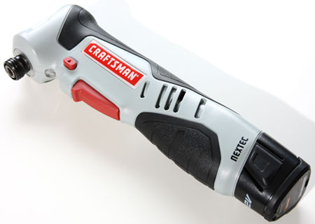Craftsman 12V Right Angle Impact Driver Kit for $40