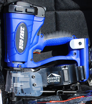 Duo-Fast Construction's Fuel Powered Cordless Roofing Nailer System
