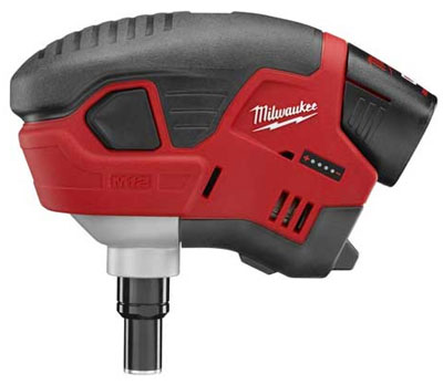 Milwaukee M12 Cordless Palm Nailer Hits the Market