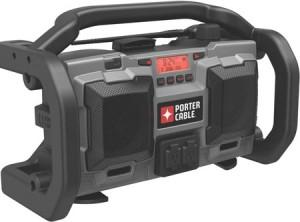 Porter Cable's New Jobsite Radio Runs Both Ways