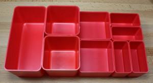 Schaller Corporation Plastic Storage and Organizer Bins