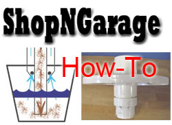 Shop N Garage How-to Blast Cabinet Separator