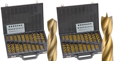 Woodcraft's 170 Piece Twist & Brad Drill Bit Sets 50% Off