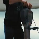 Iron Man 2 Bosch Electric Breaker Hammer Dropping