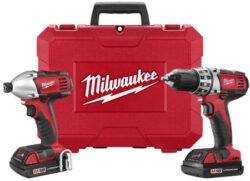 Milwaukee 18-Volt Cordless Drill Impact Driver Combo 2691-22