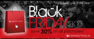 Count on Tools PB Swiss Tools Black Friday Sale 2010