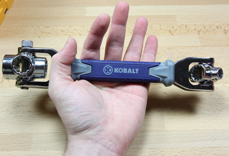 Kobalt Multi Drive Wrench Hand Scale