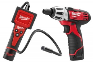 Save $90 on this Milwaukee M12 Inspection Camera & Compact Screwdriver Kit