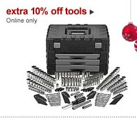 Sears 10 Percent Off Tools Nov 22 2010