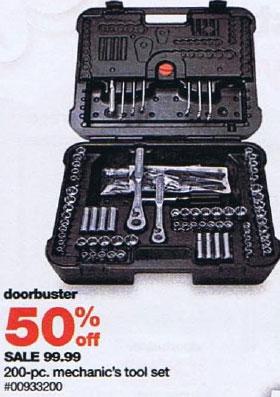 Sears Black Friday 2010 Tool Deals