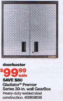 Superb Fashionable Gladiator Storage Cabinet Garage. Sears Black Friday 2010 Tool  Deals