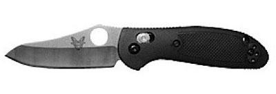 Benchmade Mini-Griptilian 555HG Pocket Knife Axis Lock Demo