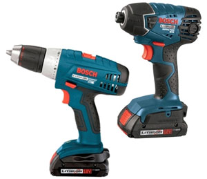 Bosch 18V Drill and Impact Driver Combo 12-2010 Recommendations
