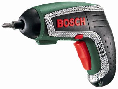 Bosch IXO Lithium Ion Screwdriver with Swarovski Crystals Limited Edition